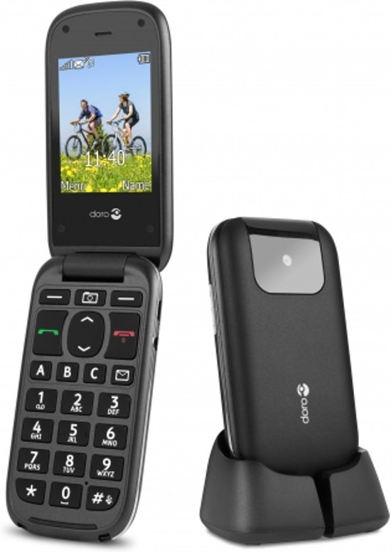 senioren mobiel Doro PhoneEasy 613