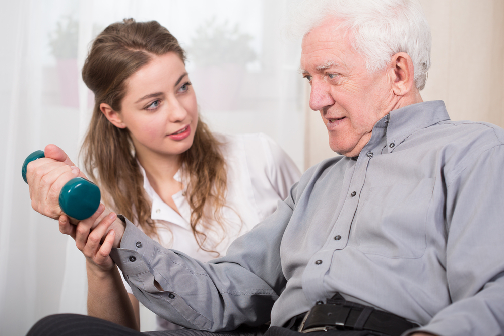 Studenten zorg senioren