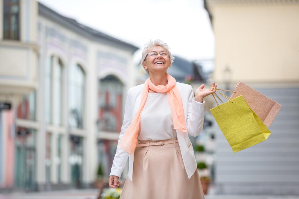 Hippe mode voor oudere dames