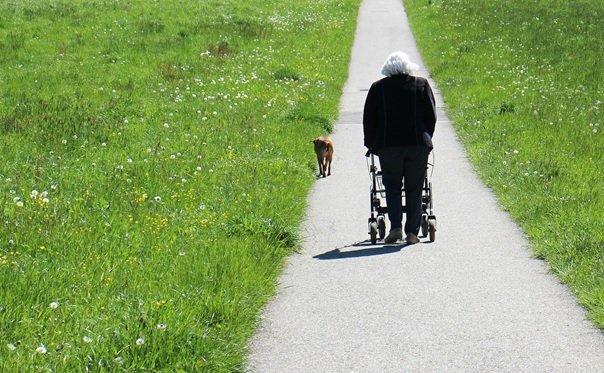 Een rollator of rolstoel voor meer zelfstandigheid