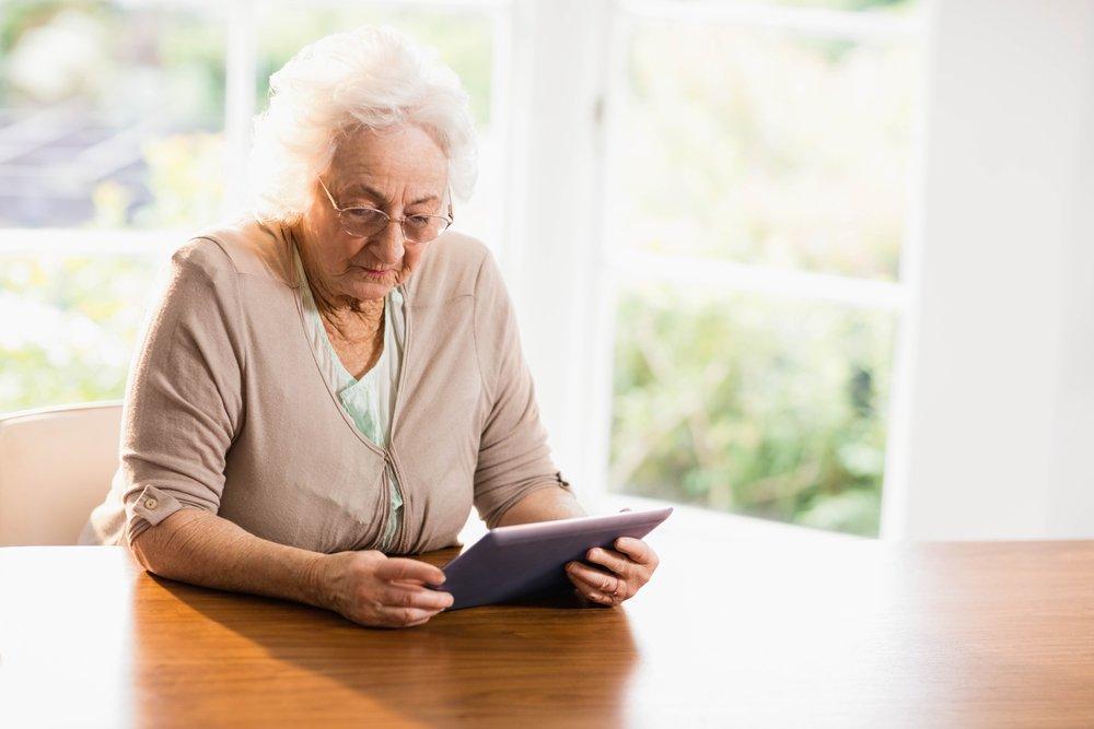Gebruiksvriendelijke tablet