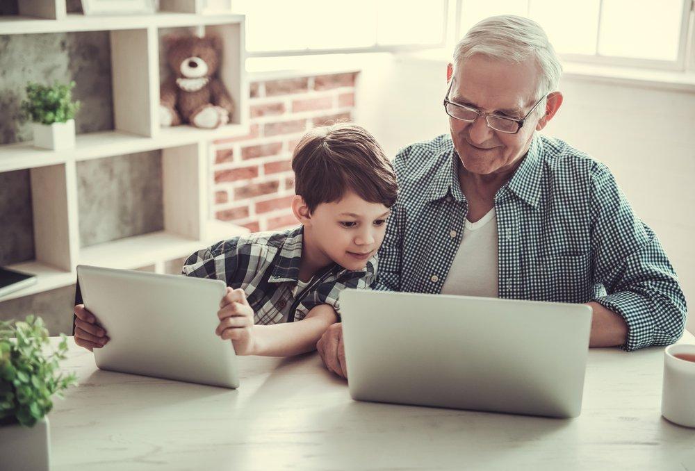 Tablet voor ouderen