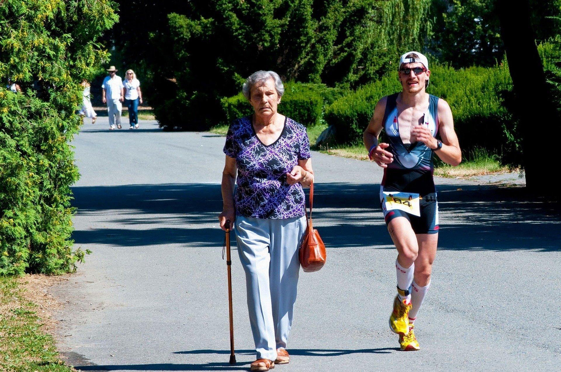 Sportende senioren